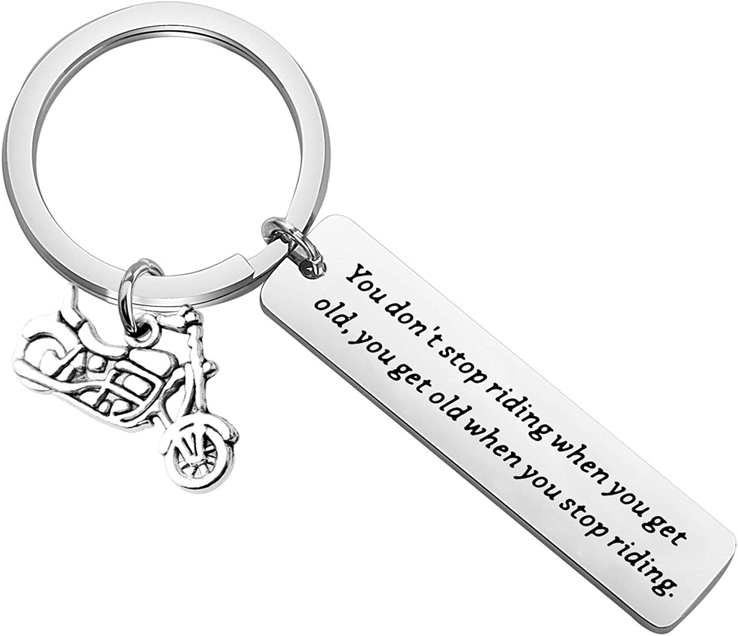 Just Lean It Scooter UTV KEYTAILS Keychains Premium Quality Key Tag for Motorcycle ATV