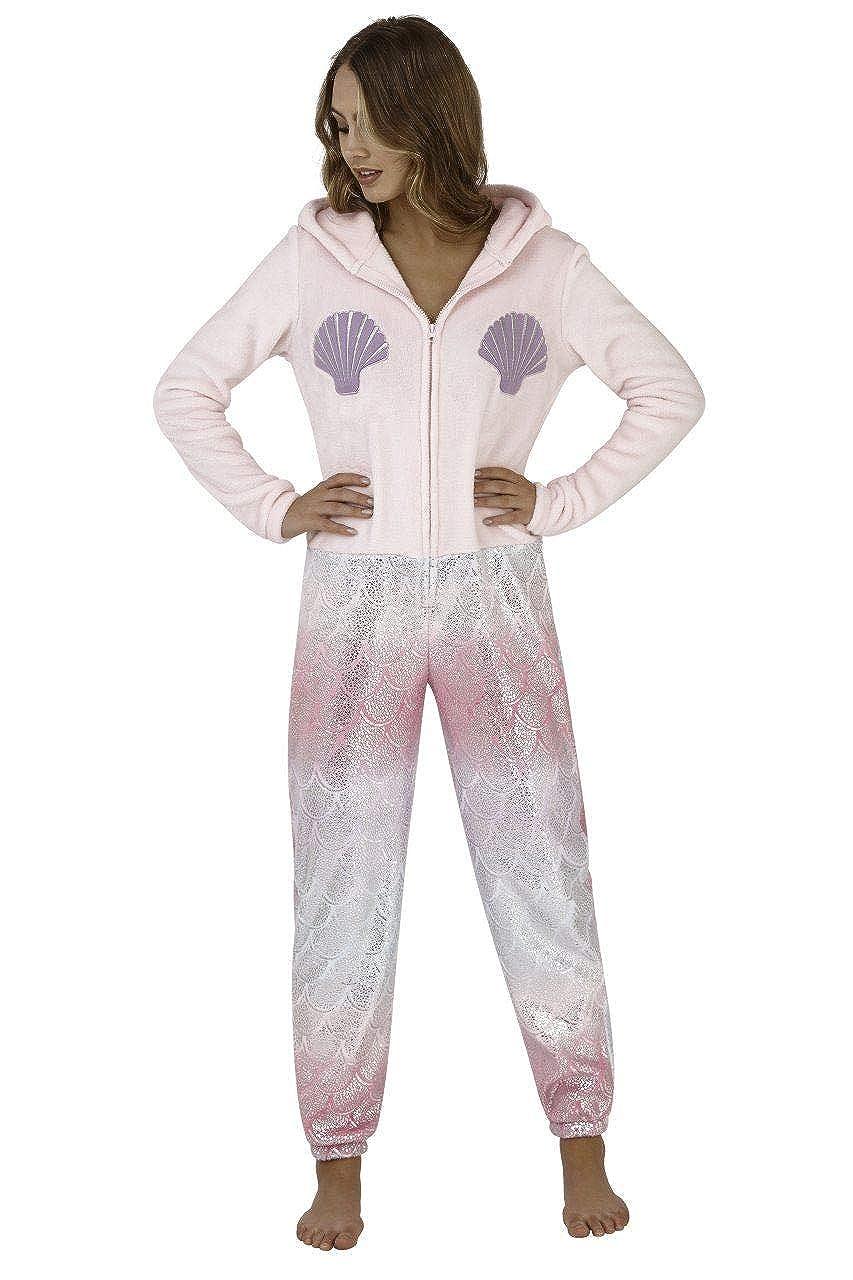Co Ladies Girls Mermaid Ones Pajama Sleepwear Loungewear Gift