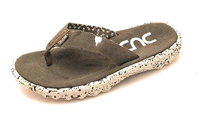 Dude Shoes Herren Damen Sava Etno Graue Leinwand Flip Flop EU40/EU41 s41D4igwT