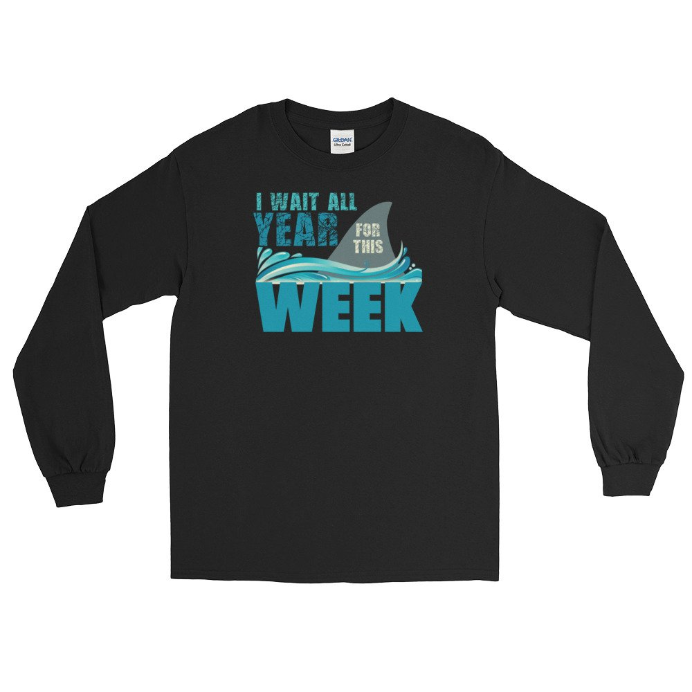 I Wait All Year for This Week Shark T-Shirt