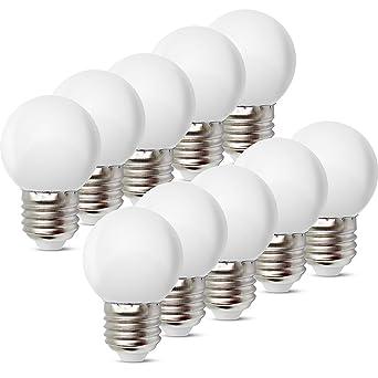 1W E27 Bombilla Bombilla de Color Ahorro de Energía Color Bombilla LED 80LM Conveniente para Decoración