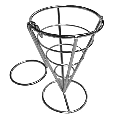 Amazon Conical French Fries Holder Buffet Conical Snack