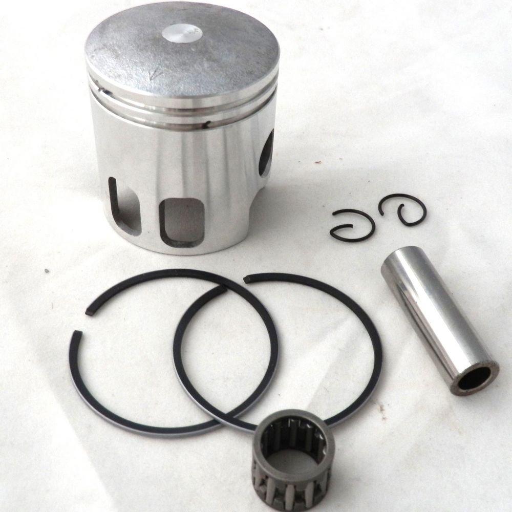 YunShuo Piston w/ Ring Set 47mm 10mm Wrist Pin for 70cc Big Bore Minarelli 1PE 40QMB by YunShuo (Image #2)
