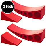 2-Pack Camper Leveler, Chock Kit | Andersen 3604 x2 | Less Than 5 Minutes to Level Your Camper or Trailer | Levelers for RV | Simply Drive On. Chock. Done. | Faster and Easier Than RV Leveling Blocks!