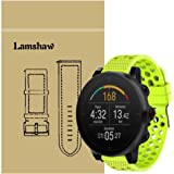 for Polar Vantage M Band, Lamshaw Silicone Replacement Wristbands Sport Strap with Metal Buckle for Polar Vantage M…