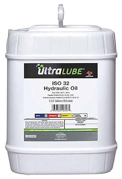 Ultra Lube 10557 ISO 32 Premium grado aceite hidráulico - 5 gallon ...