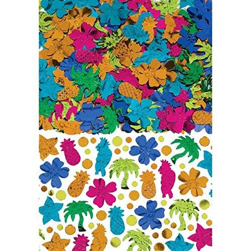 Amscan Tiki Party Confetti, 2.5 oz.