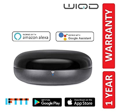 WIQD® Smart WiFi IR Universal Remote | Compatible with Alexa