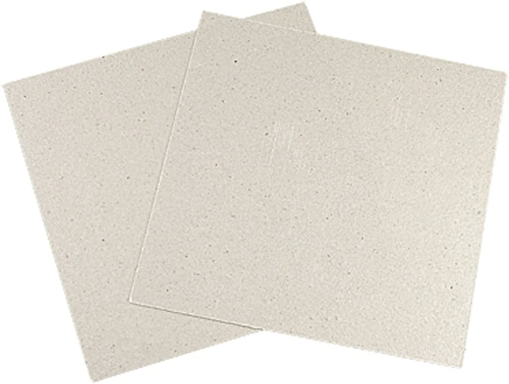 uxcell Microwave Oven 11 X 11cm Repairing Part Mica Plates Sheets 2 Pcs
