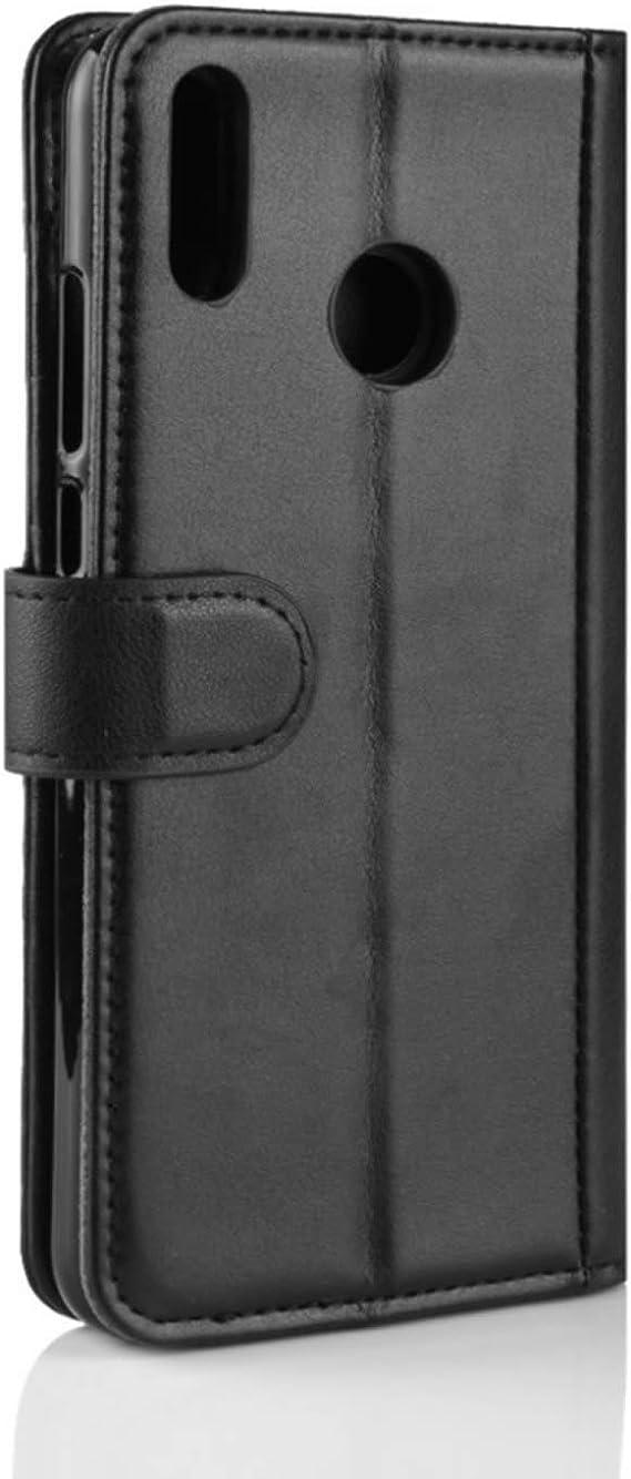 HualuBro Funda Huawei Honor 8X, Genuine Cuero Leather Billetera ...
