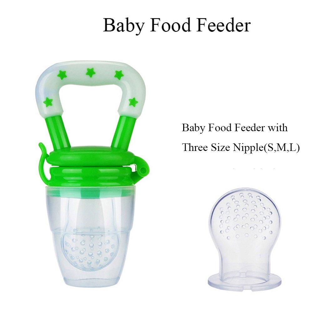 YiTao bebé alimentos alimentador frutas Alimentos tetina ...