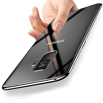 ORLEGOL Funda Samsung Galaxy S9, Carcasa Case Samsung Galaxy S9 Funda Silicona Ultra Delgado Anti-rasguños TPU Bumper Case Cover para Samsung Galaxy ...