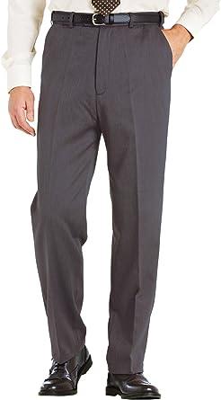 Amazon Com Chums Pantalones Formales De Talle Alto Con Forro Para Hombre Clothing