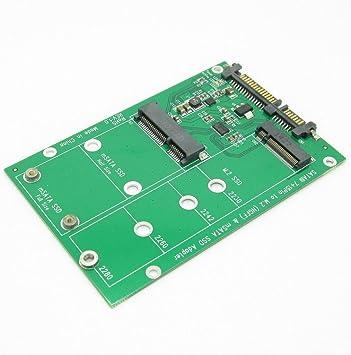 SATA 3.0 III Adapter PCBA to2 in 1 Combo Mini PCI-E 2 Lane M.2 NGFF /& mSATA SSD
