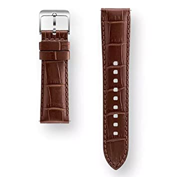 Samsung Bracelet en Cuir pour Montre connectée Gear S3