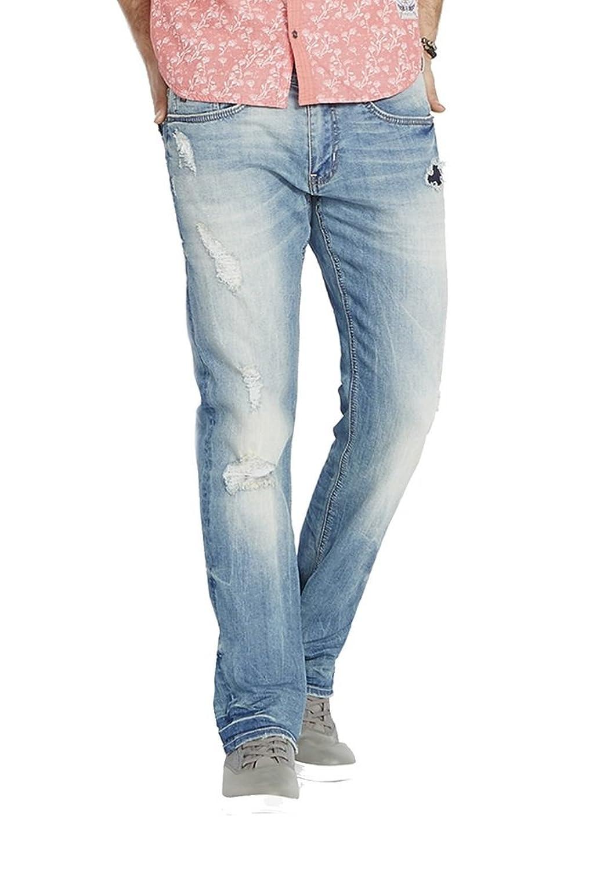 2198b852 durable service Buffalo David Bitton Men's Evan Slim Fit Stretch Denim  Fashion Jean in 30 Inseam