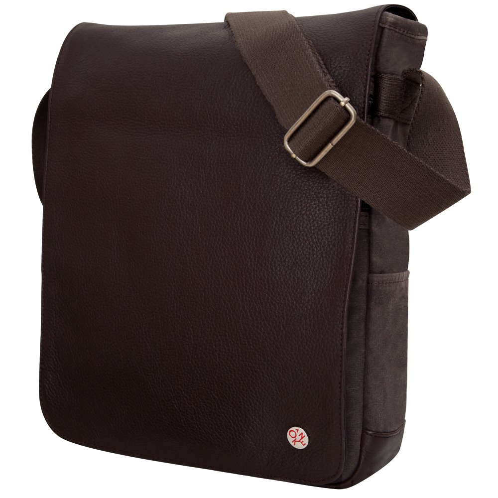 Token Bags Nassau Waxed File Case, Dark Brown, One Size by Token Bags