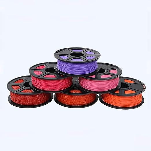 MXLTiandao Filamento 3D ABS Filamento 1.75 1kg Carretes de ...