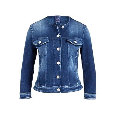 free shipping 9f0c8 02841 Jacob Cohen Jeansjacke Damen Denimblau J956 853031: Amazon ...