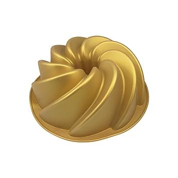 Molde para molde – Silicona, 21 x 8 cm (ØxH), Oro,