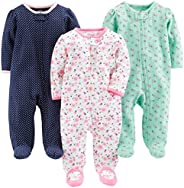 Simple Joys by Carter's Baby Girls' 3-Pack Sleep