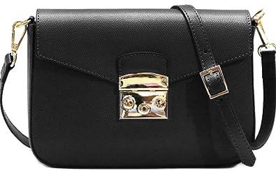 e7d49b943838 Women s Crossbody Shoulder Bag Handbag Floto Sapri in Saffiano Leather