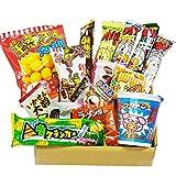 Japanese Dagashi 18 pcs Assortment & Cup Noodles Ramen BUTAMEN Set Special Box with AKIBA KING Sticker
