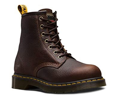 a895fb1c4ec2 Dr. Martens Work Women s Maple Steel Toe Zip Teak Industrial Bear 3 B UK B