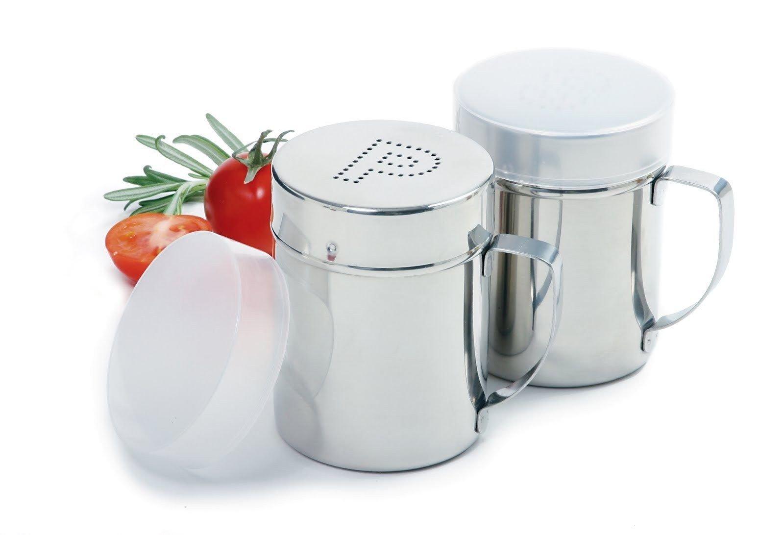 Norpro NOR-763 S/S Salt/Pepper Shaker Set, 1 EA