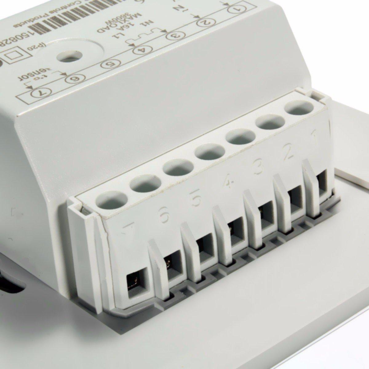 230V Manuelle Heizung Thermostat für: Amazon.de: Computer & Zubehör