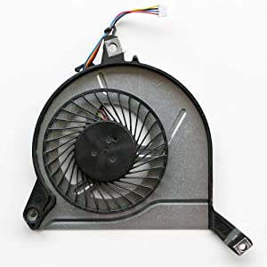 CAQL CPU Cooling Fan for HP Pavilion 17-F001DX/F002DX/F003DX/F004DX/F006DX/F010US/F014NR/F019WM/F020US/F021CY/F021NR/F022CY/F022NR/F023CL/F023CY/F023NR/F024CY/F024NR/F025CY/F025NR/F026CY/F026NR/F027CY