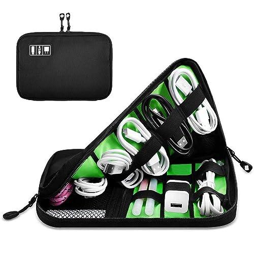 Haoda Cable Organizer Bag - Accesorios electrónicos bolsa de ...