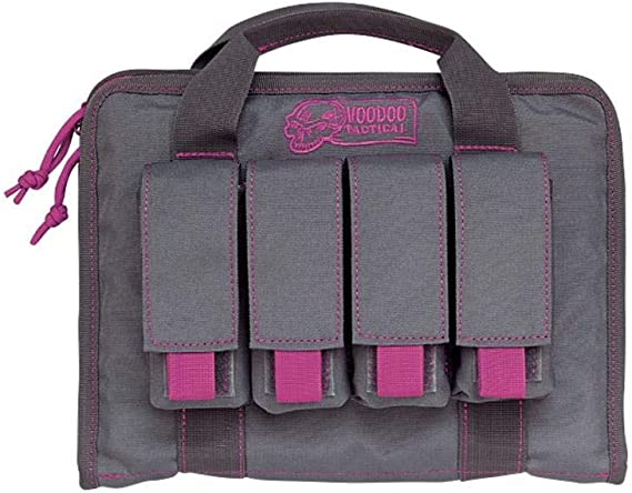 Pistol Case with Mag Pouches - Lady Voodoo Custom Series