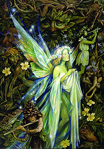 - BEYONDTHEWALL Archive Brian Froud Gwenhwyfar Fairy Decorative Fantasy Art Print (Unframed 24x36 Poster)