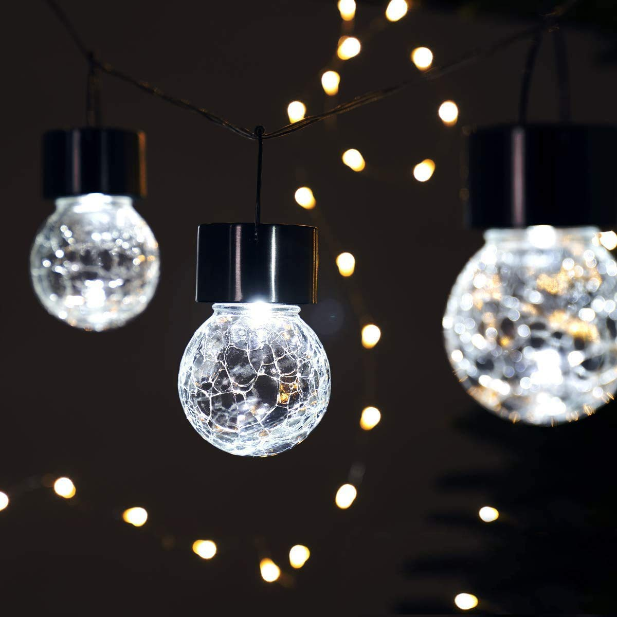 GIGALUMI Solar Hanging Lights