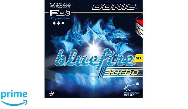 Goma DONIC Acuda S1 Turbo, 2,0 mm, negro: Amazon.es: Deportes y aire libre