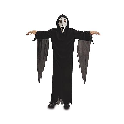 My Other Me Disfraz de fantasma con máscara, para niños de 5-6 años (Viving Costumes MOM00108)