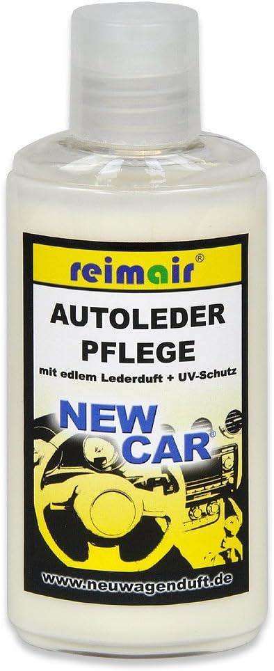 Reimair Newcar Autopflege Sparset Mit Lederreiniger Und Lederpflege Mit Lederduft Sowie Mikrofasertuch Auto