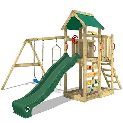 Sehr WICKEY Spielturm MultiFlyer Kletterturm Spielplatz Garten mit FT86
