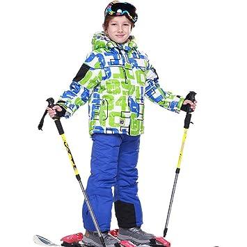 LPATTERN Traje de Esquí para Niños/Niñas 2 Pieza Conjunto ...