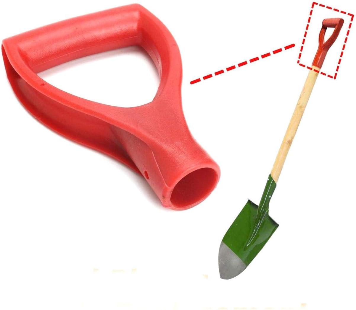 JOJOZZ Pallina di plastica D-Impugnatura di Ricambio per la rimozione Garden Lawn Farm Neve Spade Forcella Pala