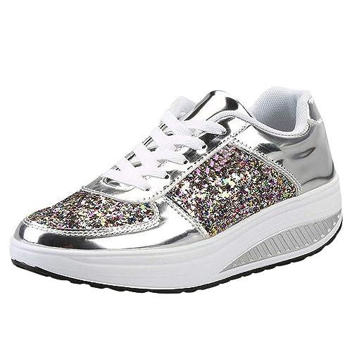 8e83e3243d2d Amazon.com  Seaintheson Women s Sneakers