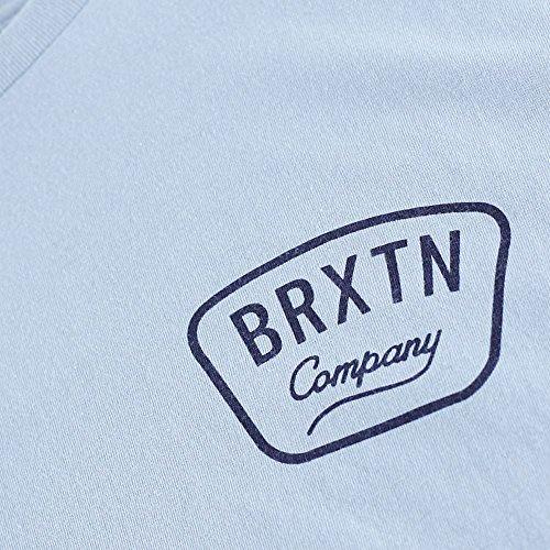 Brixton Herren T-Shirt blau blau One size