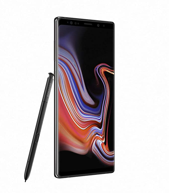 Samsung Galaxy Note9 N9600 128GB Unlocked GSM Duos Phone w/Dual 12MP Camera - Midnight Black (International Version) (No Warranty)