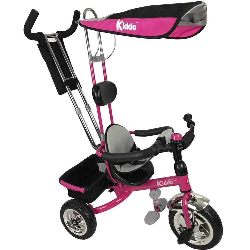 Kiddo Dreirad - 4 in 1 Dreirad Kiddo Rosa