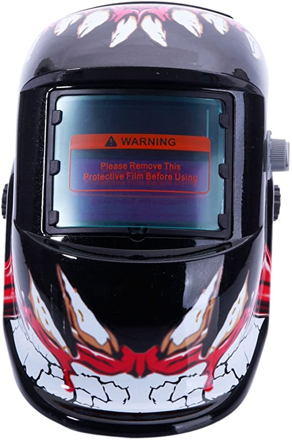 Safety Pro Solar Welder Mask Auto-Darkening Welding Helmet Arc Tig Mig Grinding