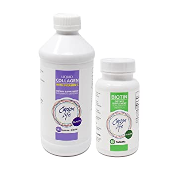 Amazon.com: Carson vida – Suplemento de Biotina (1 botella ...