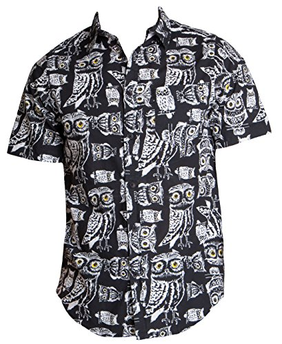 ragstock-mens-casual-button-up-icon-printed-woven-shirts