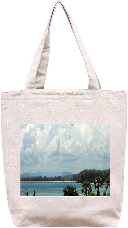 puket, de Tailandia - playa algodón bolsa para herramientas de lona: Amazon.es: Hogar