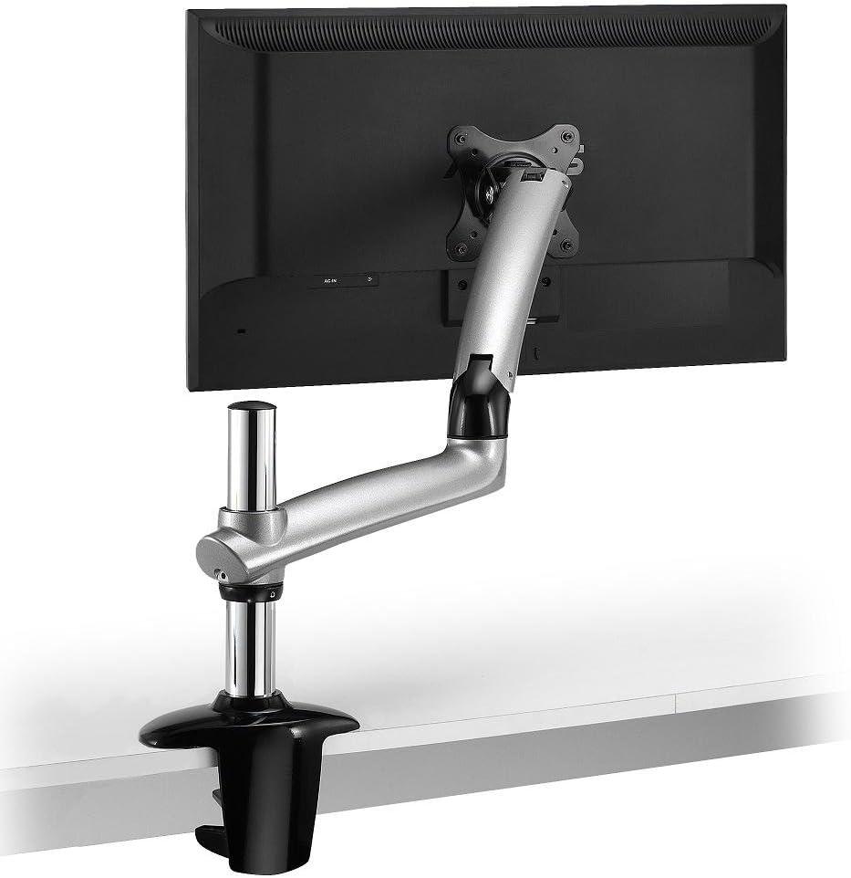Cotytech Expandable Desk Mount Spring Arm Clamp Base - Silver